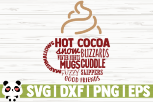 Print on Demand: Winter - Hot Chocolate Graphic Illustrations By CreativeDesignsLLC