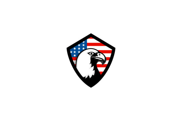 Download Free Eagle Bedge America Logo 3 Graphic By Noory Shopper Creative SVG Cut Files