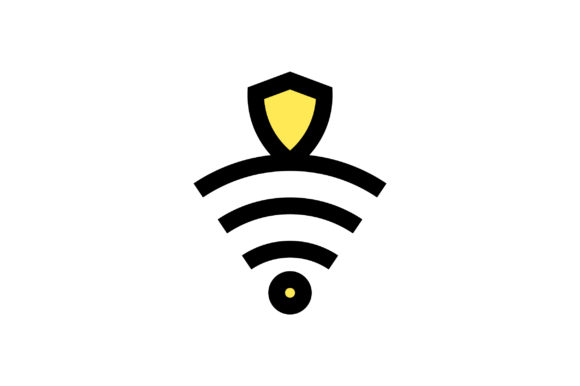 Download Free Wifi Security Icon Vector Grafico Por Riduwan Molla Creative for Cricut Explore, Silhouette and other cutting machines.