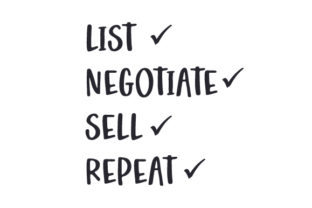 List Negotiate Sell Repeat Work Craft Cut File By Creative Fabrica Crafts