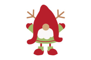 Christmas Gnome Christmas Craft Cut File By Creative Fabrica Crafts