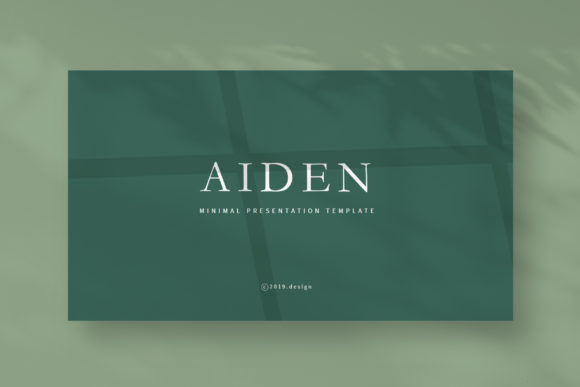Aiden - Google Slides Template Graphic Presentation Templates By balyastd