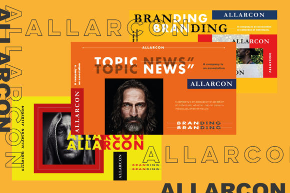 Allarcon - Google Slides Template Graphic Presentation Templates By balyastd - Image 2