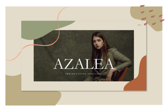 Azalea - PowerPoint Template Graphic Presentation Templates By balyastd