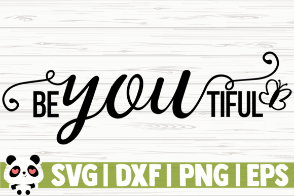 Download Free Beyoutiful Graphic By Creativedesignsllc Creative Fabrica for Cricut Explore, Silhouette and other cutting machines.