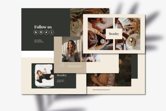 Beasley - Google Slides Template Graphic Presentation Templates By balyastd - Image 3