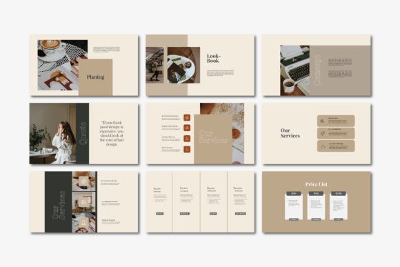 Beasley - Google Slides Template Graphic Presentation Templates By balyastd - Image 5