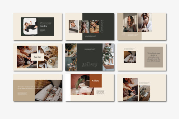 Beasley - Google Slides Template Graphic Presentation Templates By balyastd - Image 6
