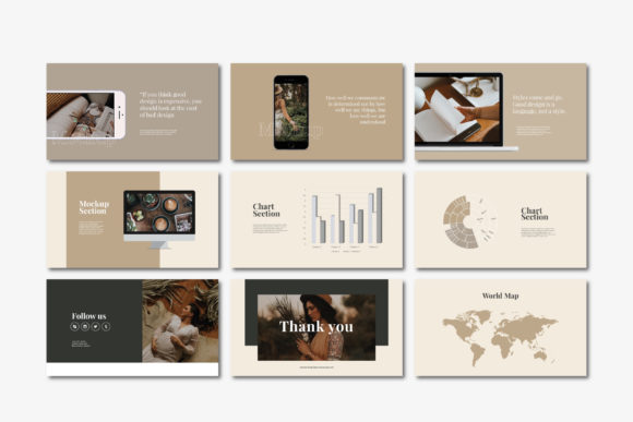 Beasley - Google Slides Template Graphic Presentation Templates By balyastd - Image 7