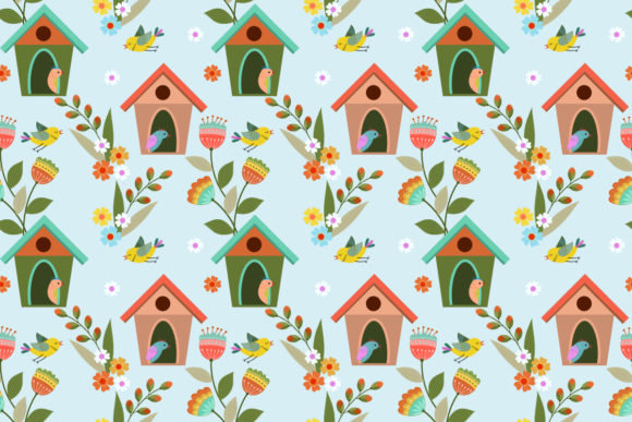 Cute Green Frogs Seamless Pattern Grafik Von Ranger262