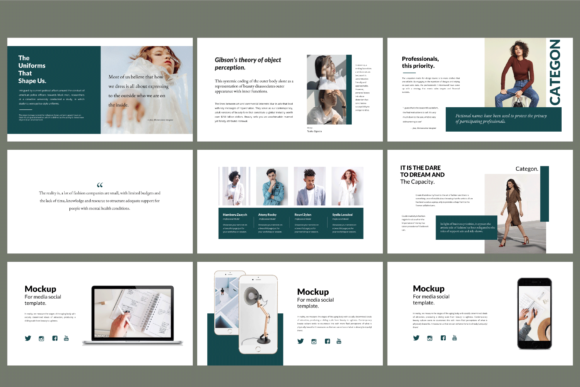 Download Free Categon Powerpoint Template Graphic By Balyastd Creative Fabrica for Cricut Explore, Silhouette and other cutting machines.