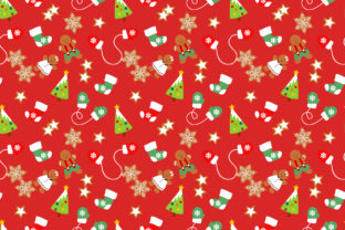 Christmas Cookies Seamless Pattern Graphic By Thanaporn Pinp