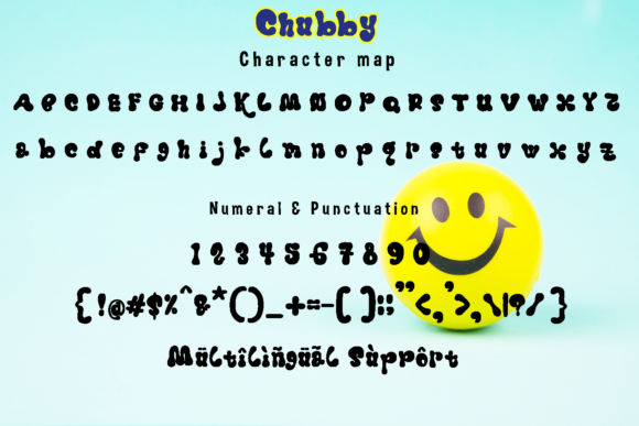 Print on Demand: Chubby Color Fonts Font By Gie Studio - Image 6