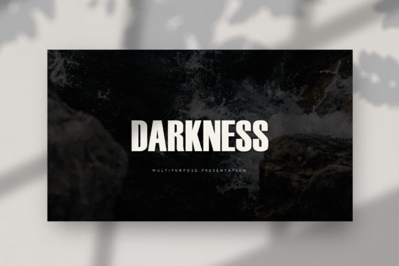 Darkness - PowerPoint Template Graphic Presentation Templates By balyastd - Image 2