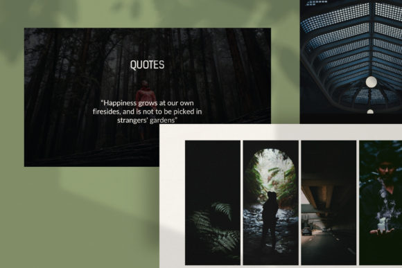 Darkness - PowerPoint Template Graphic Presentation Templates By balyastd - Image 3