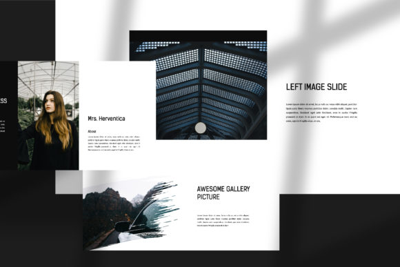 Darkness - PowerPoint Template Graphic Presentation Templates By balyastd - Image 6