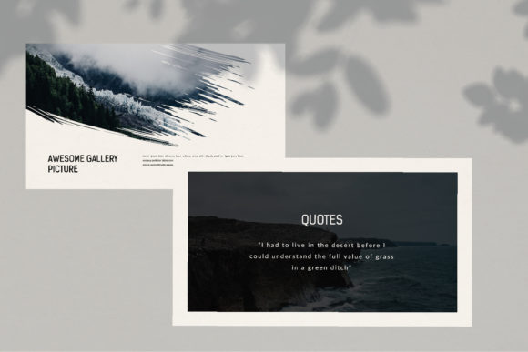 Darkness - PowerPoint Template Graphic Presentation Templates By balyastd - Image 8