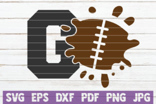 Download Free Football Go Graphic By Mintymarshmallows Creative Fabrica for Cricut Explore, Silhouette and other cutting machines.
