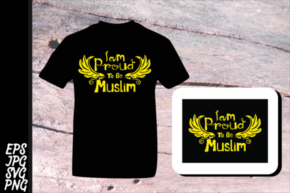 Download Free I Am Proud To Be Muslim Svg Graphic By Arief Sapta Adjie Ii for Cricut Explore, Silhouette and other cutting machines.
