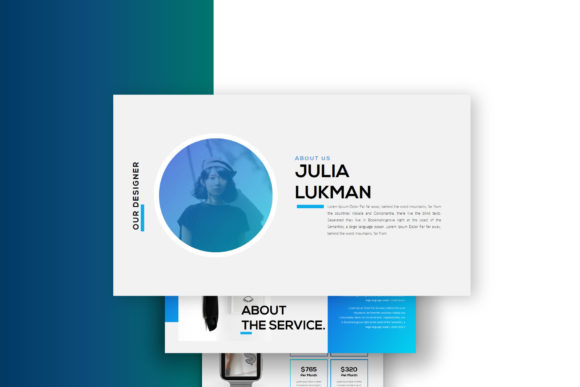 Layout - PowerPoint Template Graphic Presentation Templates By balyastd - Image 5