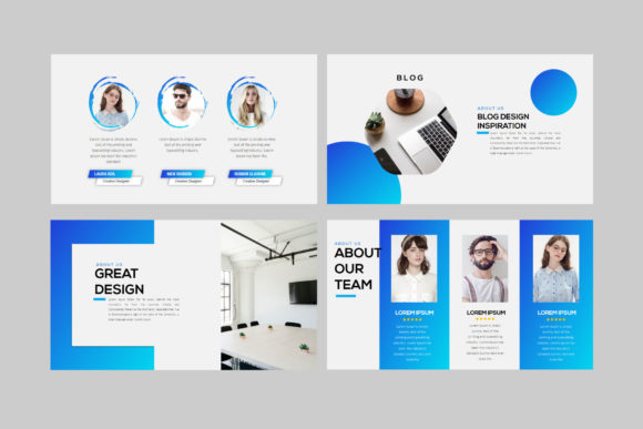 Layout - PowerPoint Template Graphic Presentation Templates By balyastd - Image 6