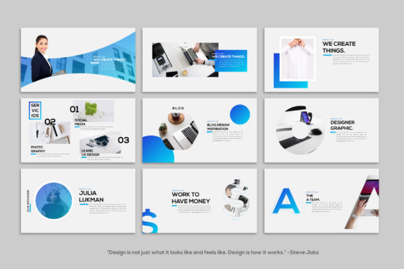 Layout - PowerPoint Template Graphic Presentation Templates By balyastd - Image 7