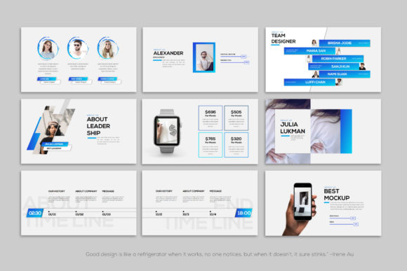 Layout - PowerPoint Template Graphic Presentation Templates By balyastd - Image 8