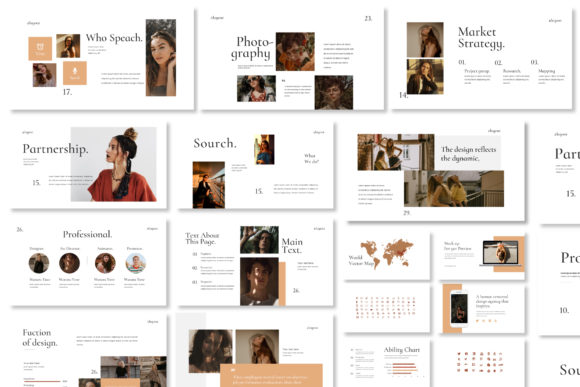 Layout Vol.2 Google Slides Template Graphic Presentation Templates By balyastd - Image 5