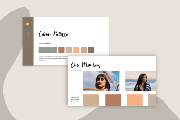 Melody - Google Slides Template Graphic Presentation Templates By balyastd - Image 5