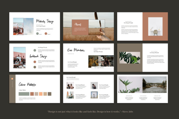 Melody - Google Slides Template Graphic Presentation Templates By balyastd - Image 7