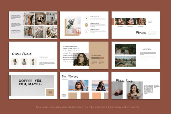 Melody - Google Slides Template Graphic Presentation Templates By balyastd - Image 8