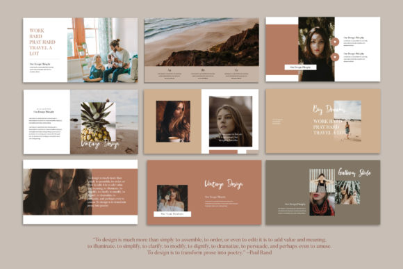 Melody - Google Slides Template Graphic Presentation Templates By balyastd - Image 9