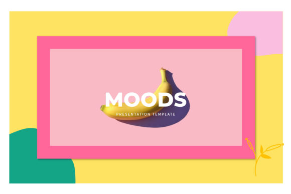 Print on Demand: Moods - Google Slides Template Graphic Presentation Templates By balyastd