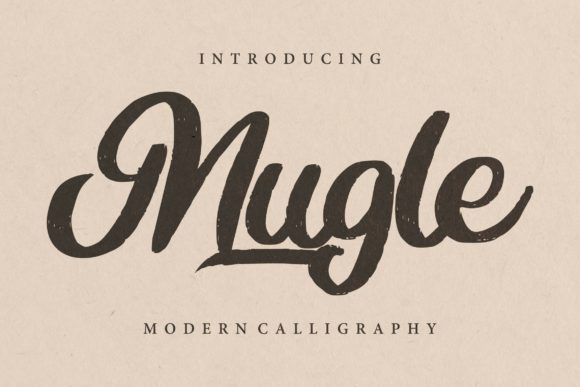 Print on Demand: Mugle Script & Handwritten Font By Vunira