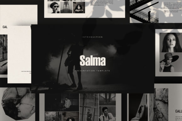 Print on Demand: Salma - Google Slides Template Graphic Presentation Templates By balyastd