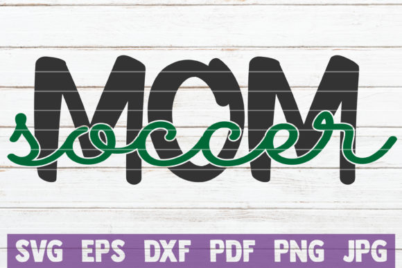 Soccer Mom Graphic Graphic Templates By MintyMarshmallows