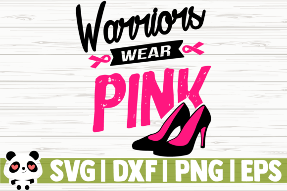 Print on Demand: Warriors Wear Pink Graphic Illustrations By CreativeDesignsLLC
