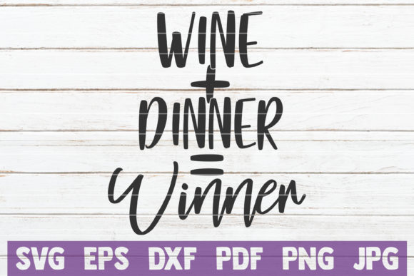 Wine Dinner Winner Graphic Graphic Templates By MintyMarshmallows