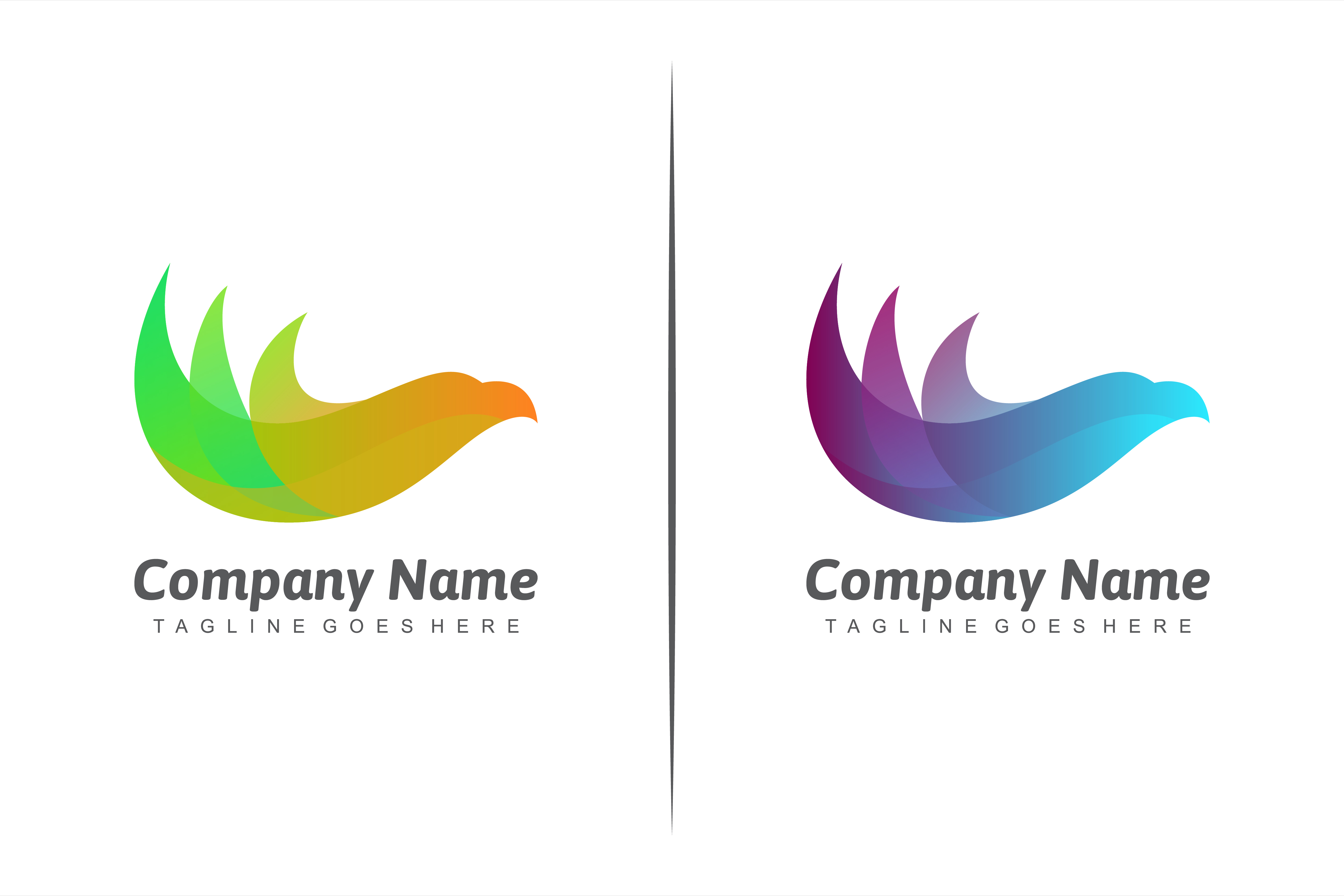 Download Free Gradient Eagle Logo Graphic By Noory Shopper Creative Fabrica for Cricut Explore, Silhouette and other cutting machines.