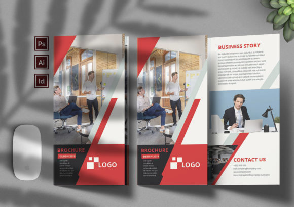 1. Corporate Brocure Vol. 1 Graphic Print Templates By balyastd