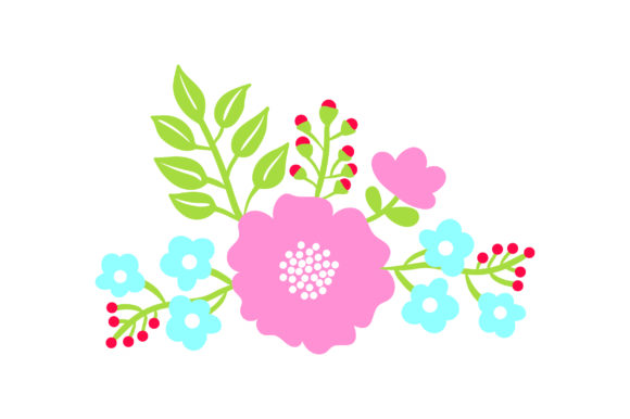 Flower Embellishment Spring Craft Cut File By Creative Fabrica Crafts - Image 1