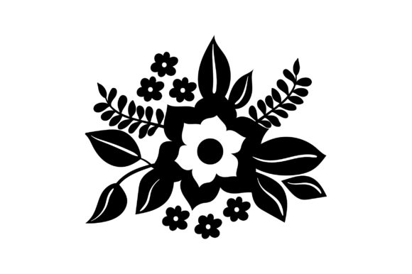 Flower Embellishment Design Spring Craft Cut File By Creative Fabrica Crafts - Image 2