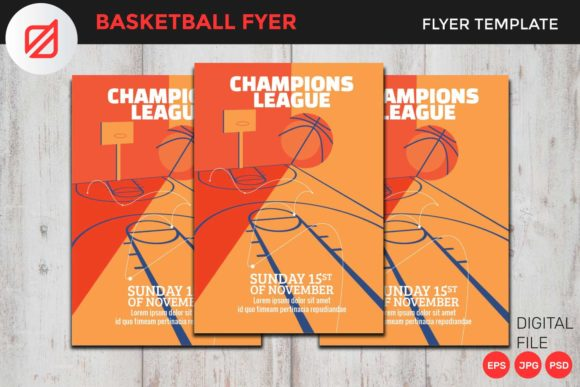 Download Free Basketball Flyer Template V6 Graphic By Illusatrian Creative for Cricut Explore, Silhouette and other cutting machines.