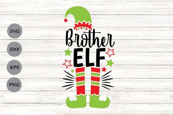 Download Free Brother Elf Graphic By Cosmosfineart Creative Fabrica for Cricut Explore, Silhouette and other cutting machines.