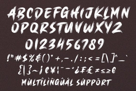Print on Demand: Brush King Display Font By Subectype - Image 11