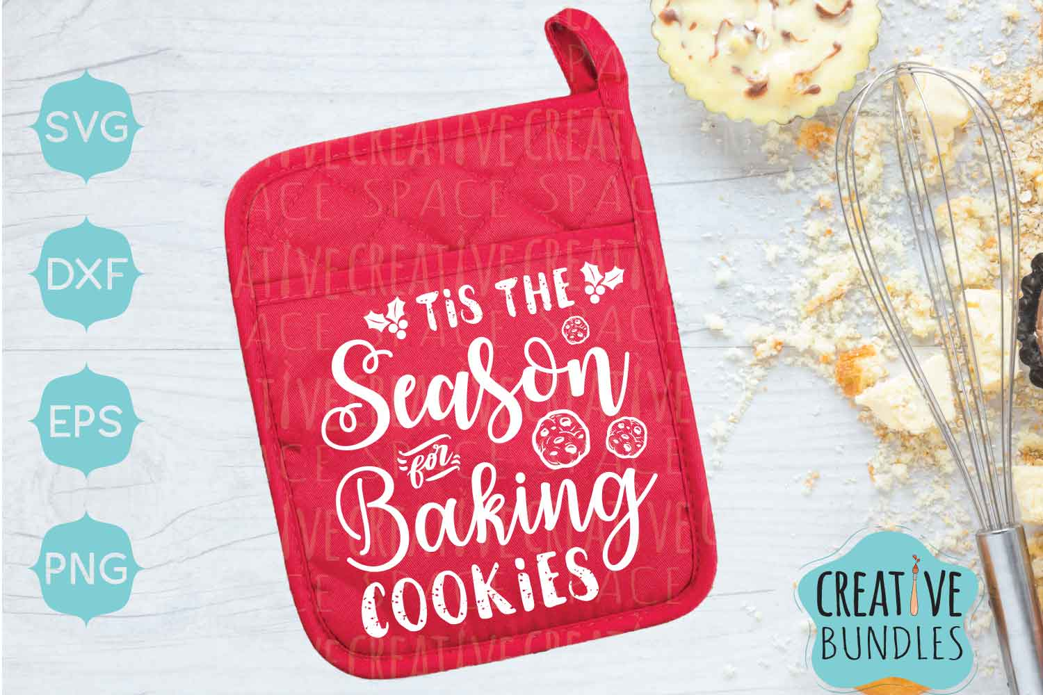Download Free Christmas Pot Holder Graphic By Creativespace Creative Fabrica for Cricut Explore, Silhouette and other cutting machines.