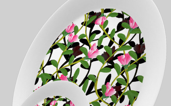 Download Free Flower And Branches Seamless Design Graphic By Patternhousepk for Cricut Explore, Silhouette and other cutting machines.