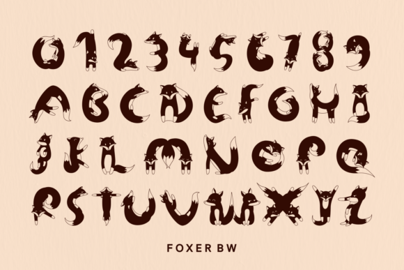 Print on Demand: Foxer Display Font By Creative Fabrica Fonts - Image 10