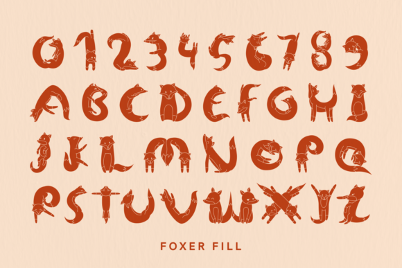 Print on Demand: Foxer Display Font By Creative Fabrica Fonts - Image 4