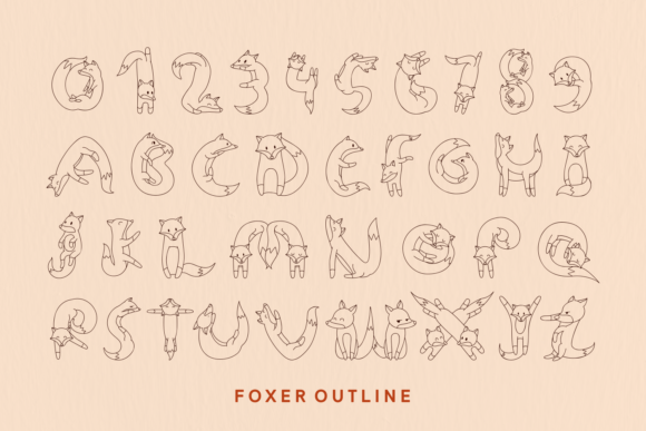 Print on Demand: Foxer Display Font By Creative Fabrica Fonts - Image 5